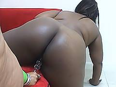 Listen to how loud these ebony fatties scream as they give each other explosive orgasms