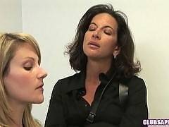 Melissa Monet Interrogating Samantha Ryan