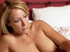 Randi James licks hot pussy before getting her own fingered by Michelle Lay