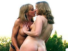 Lesbian erotica Behing The Scenes Photo Shoot with Shelly and Tera Dice