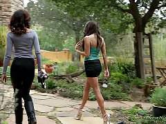 Lesbian Office Seductions #09, Scene #02. Skin Diamond, Celeste Star
