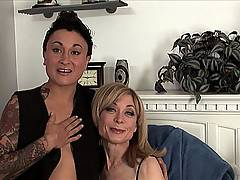 Young Syd Blakovich rides MILF Nina Hartley
