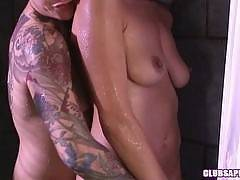 Syd Blakovich Puts Some Heat Into Elexis Monroe's Shower