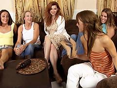 Brunette Mia Presley gets fucked by Randi James in these Hardcore video clips